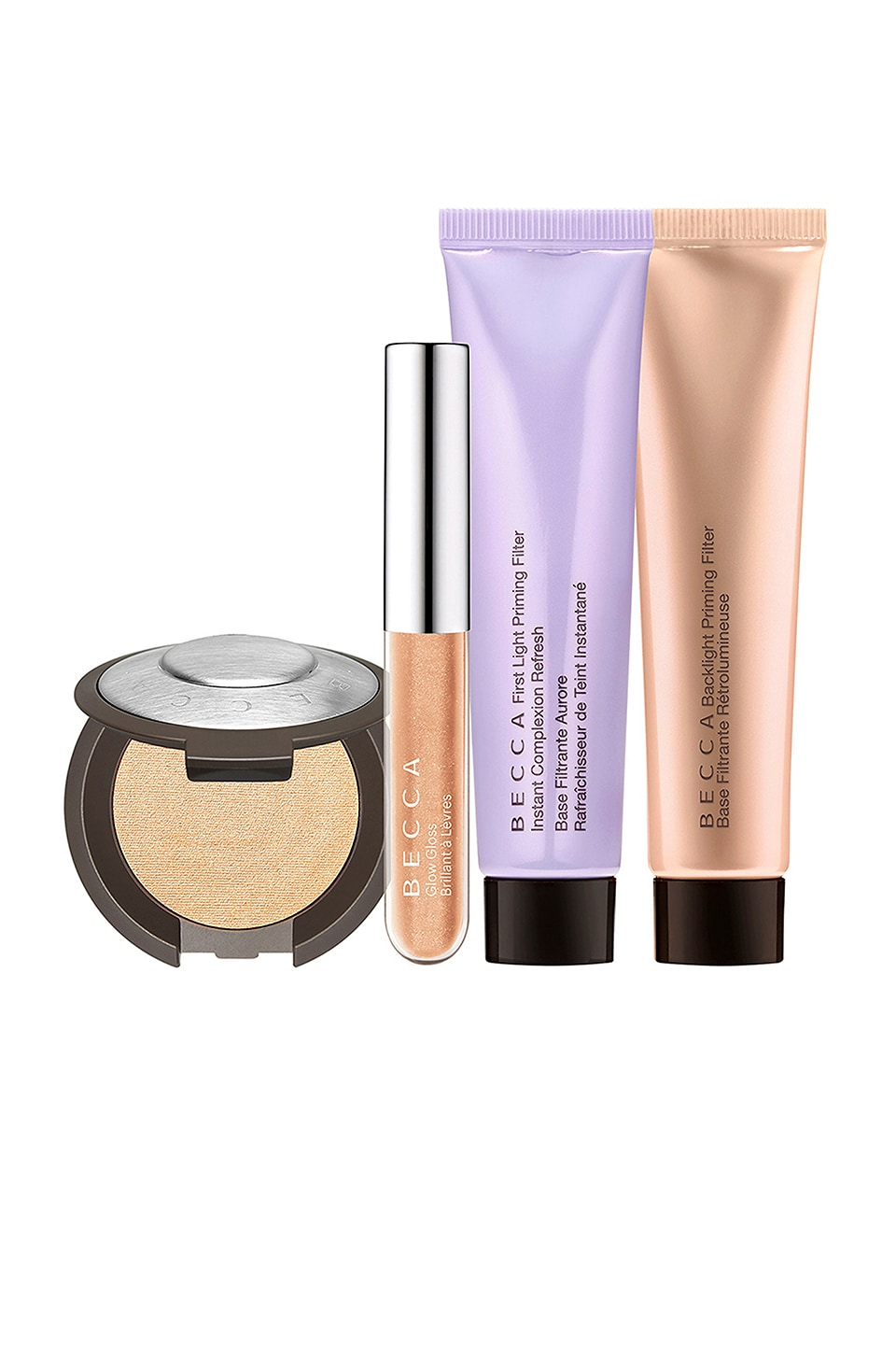 BECCA KIT DE MAQUILLAJE GLOW ESSENTIALS