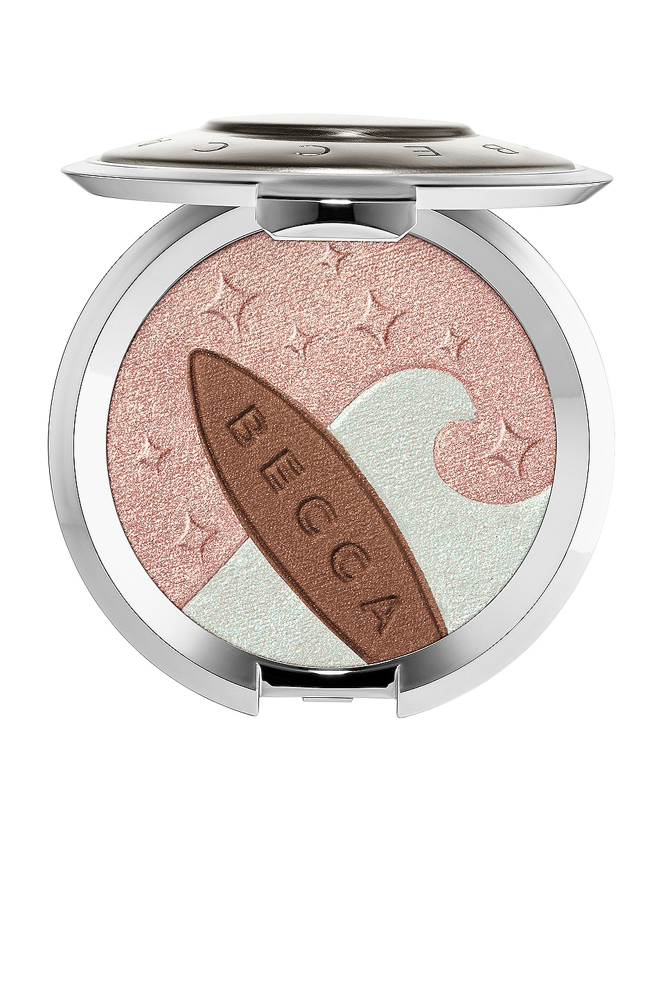 BECCA Shimmering Skin Perfector Pressed Highlighter & Sunlit Bronzer in Ocean Glow