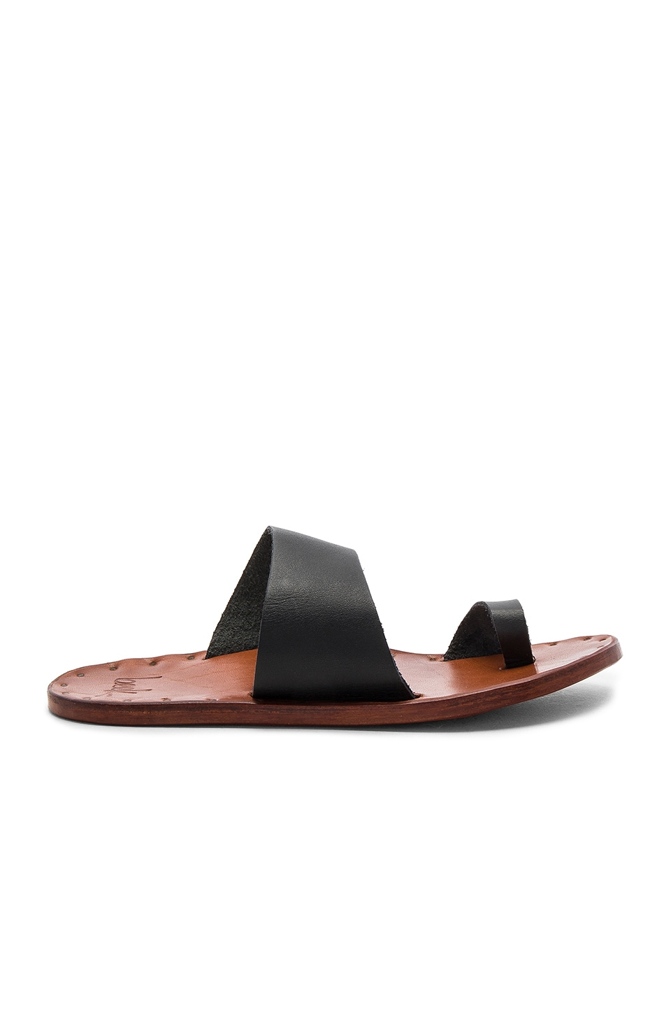 Beek The Finch Slide en Noir & Fauve