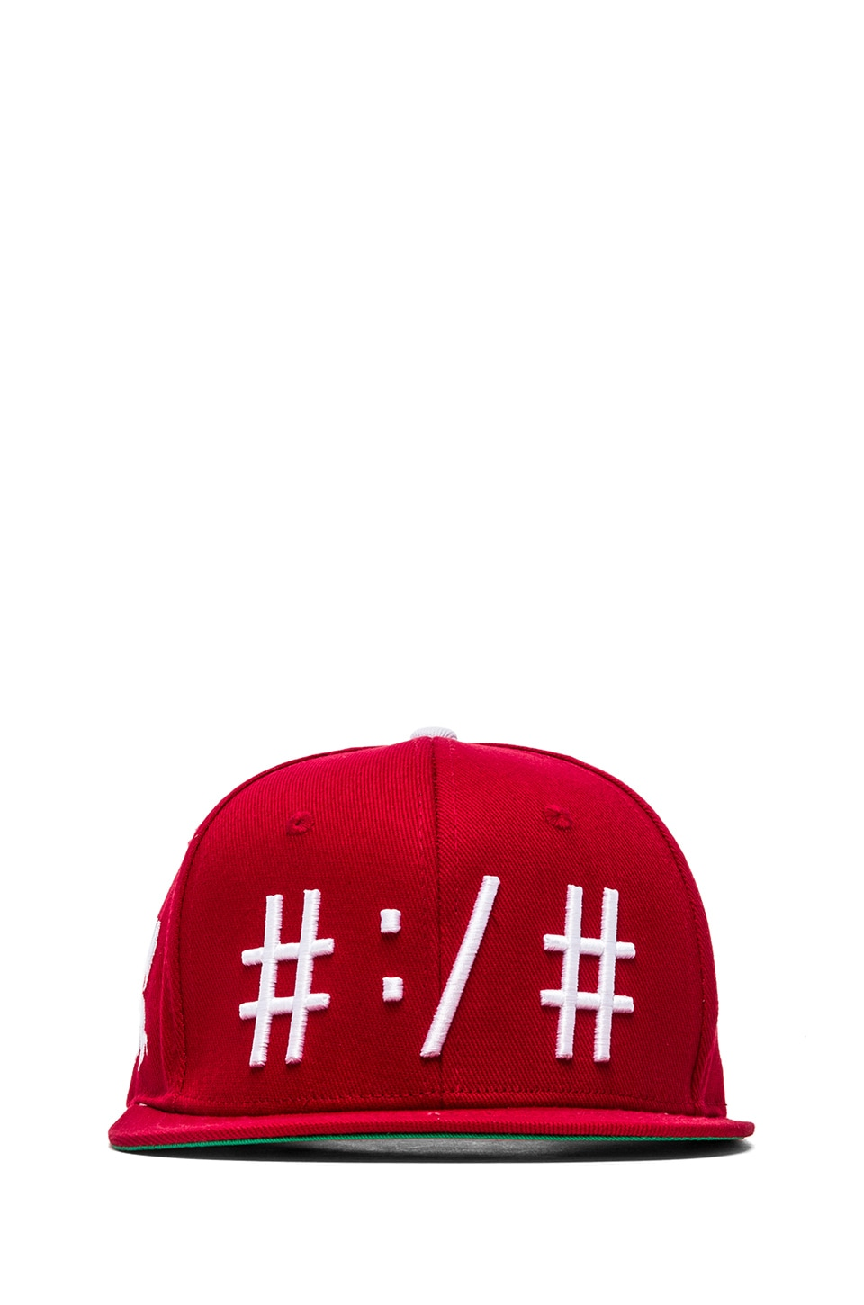 Been Trill Been Troll Eh Hat in Red and White