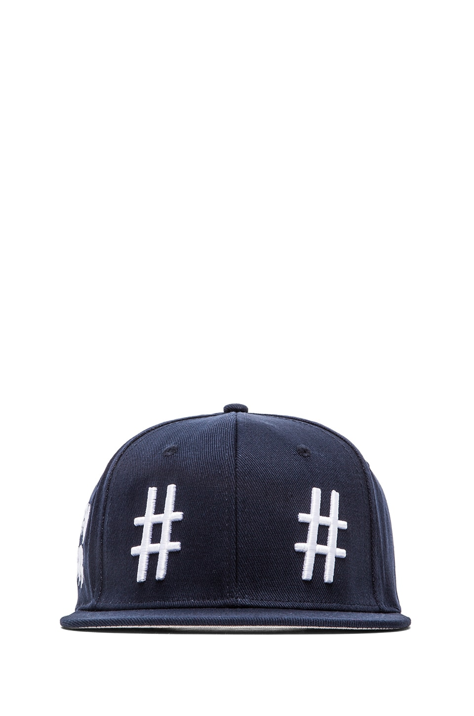 Been Trill Team Hat in Navy and White