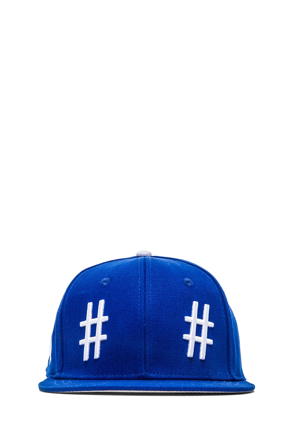 Been Trill Team Hat in Blue and White