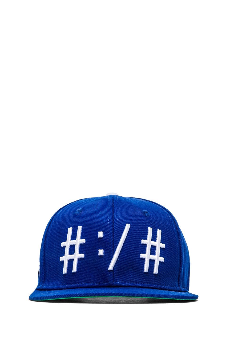 Been Trill Been Troll Eh Hat in Blue and White