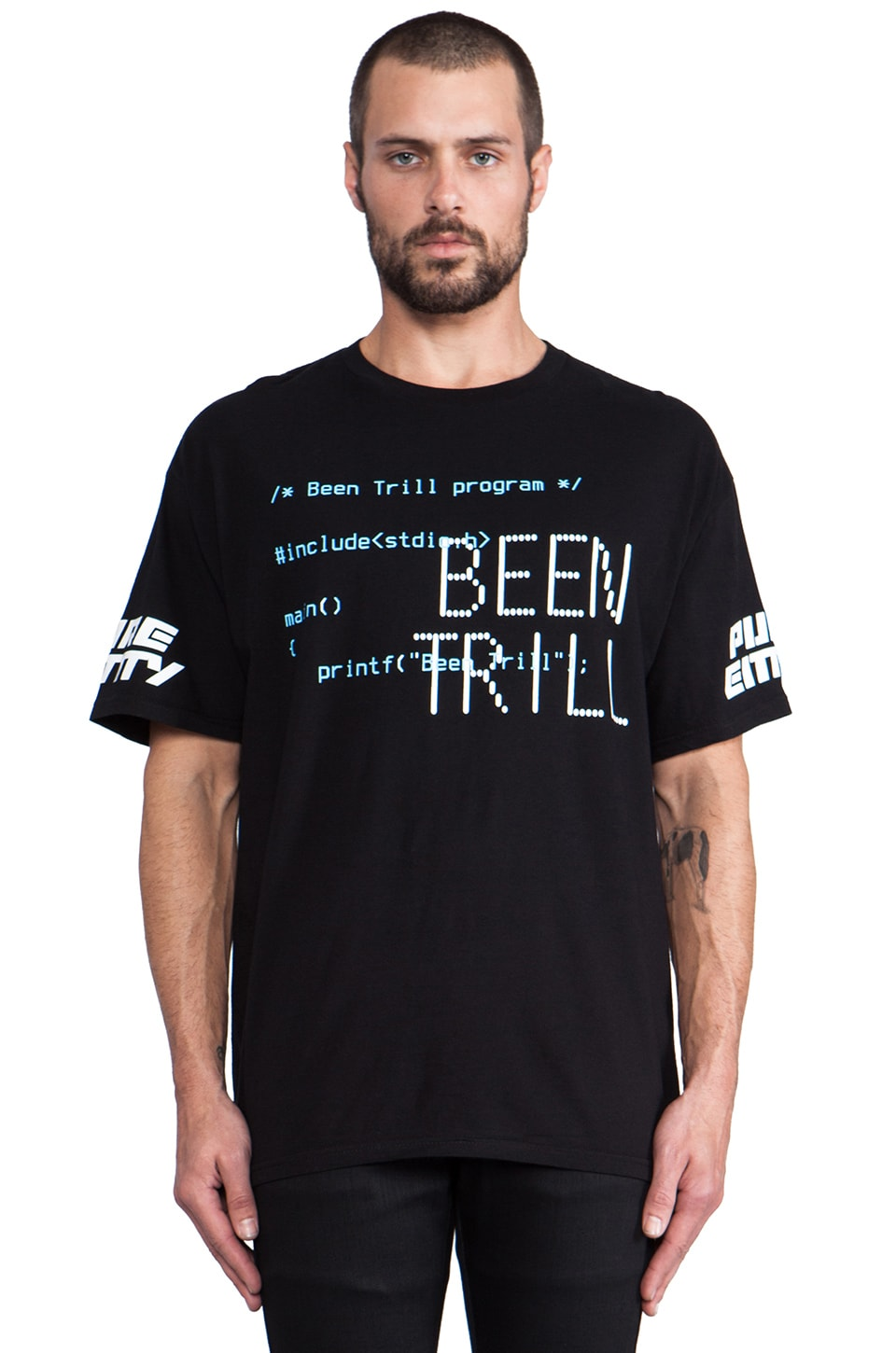 Been Trill Terminal 2 Tee in Black