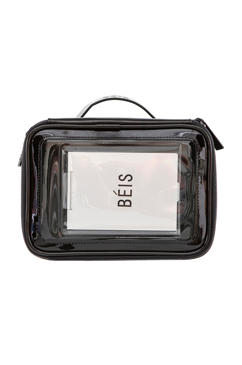 BEIS The Carry On Cosmetic Case in Black
