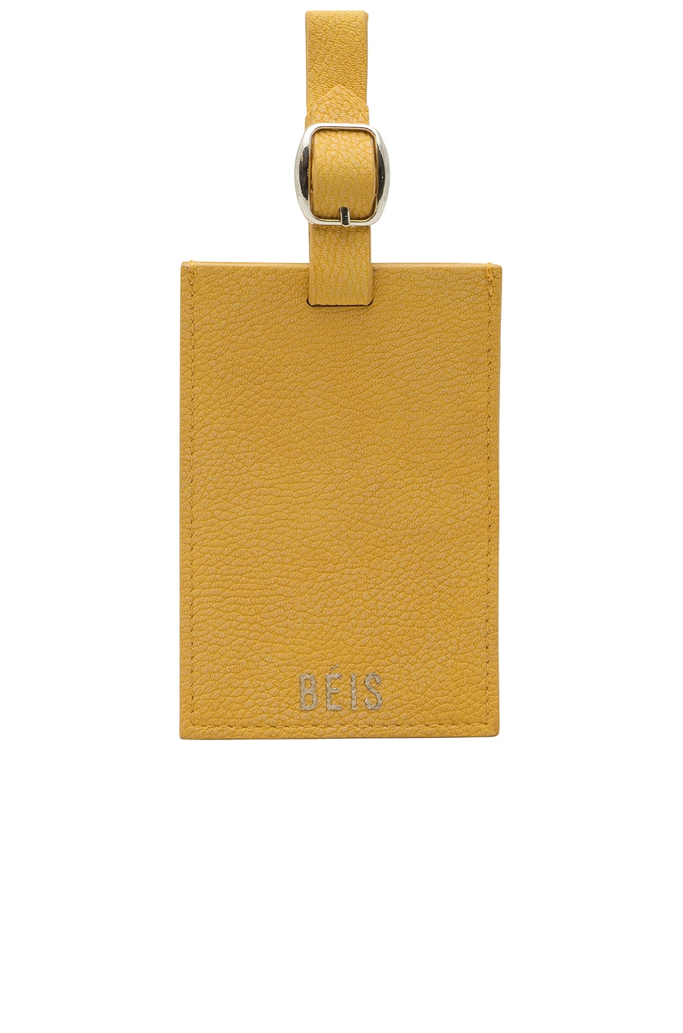 BEIS The Luggage Tag in Yellow