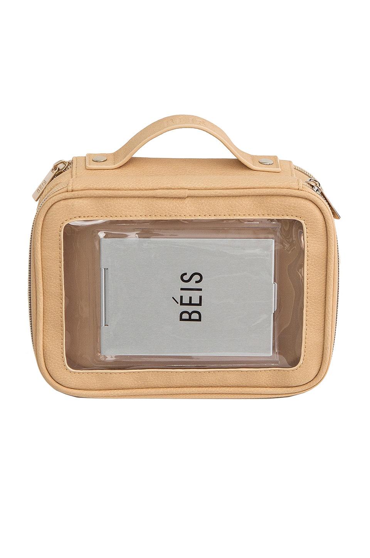 BEIS On the Go Essentials Case in Beige