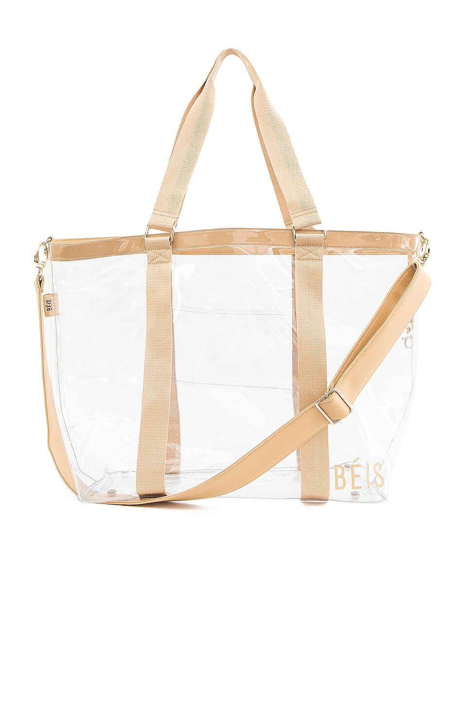 BEIS Beach Tote Bag in Beige