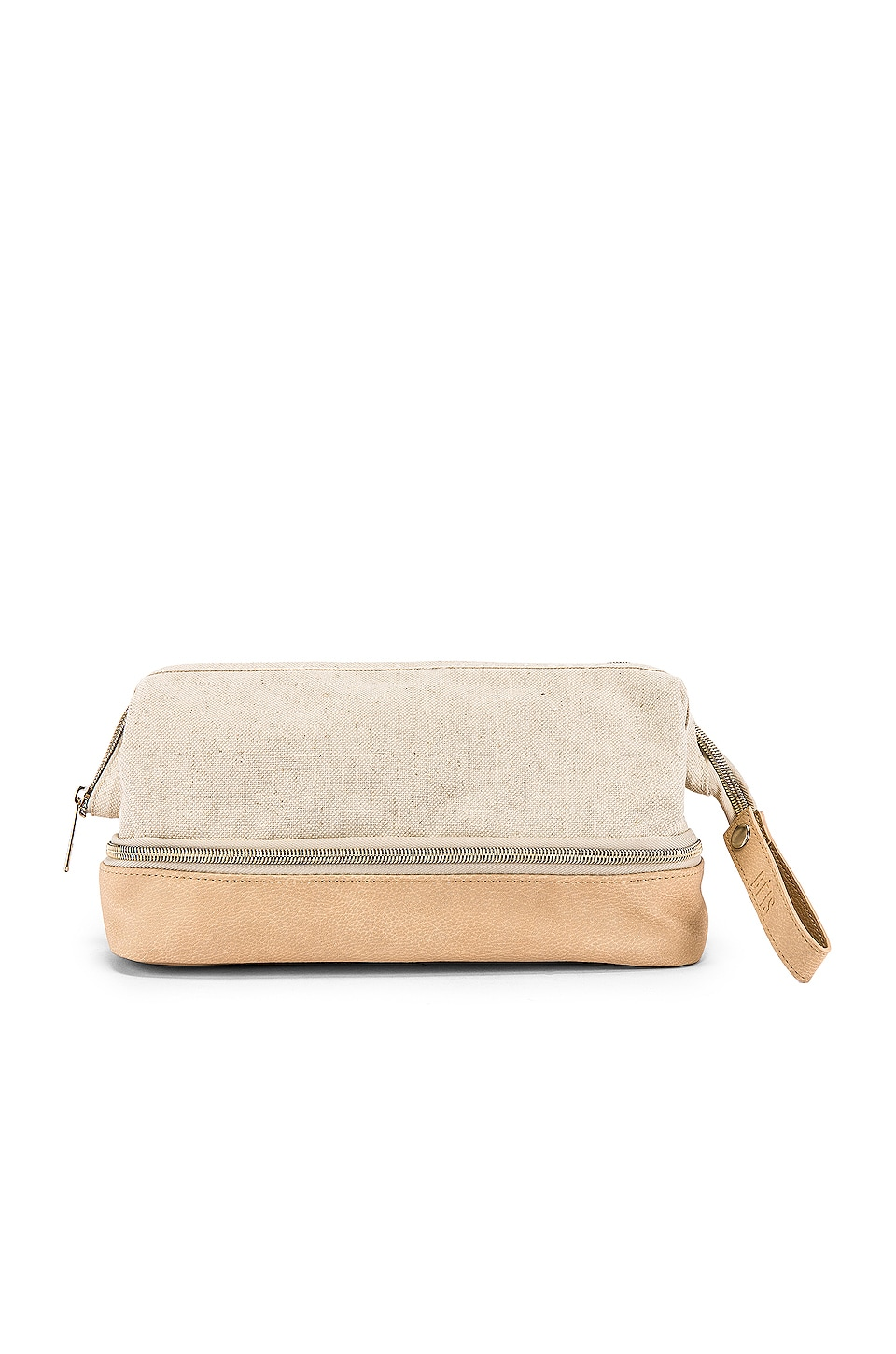 BEIS The Dopp Kit in Beige