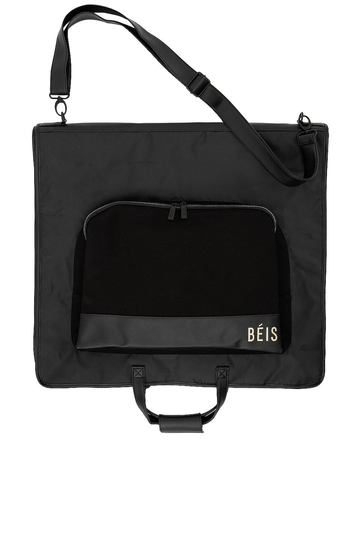 BEIS Travel Garment Bag in Black