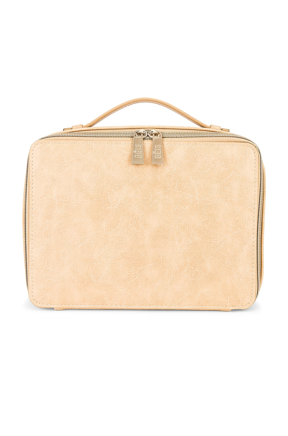 BEIS Cosmetic Case in Beige
