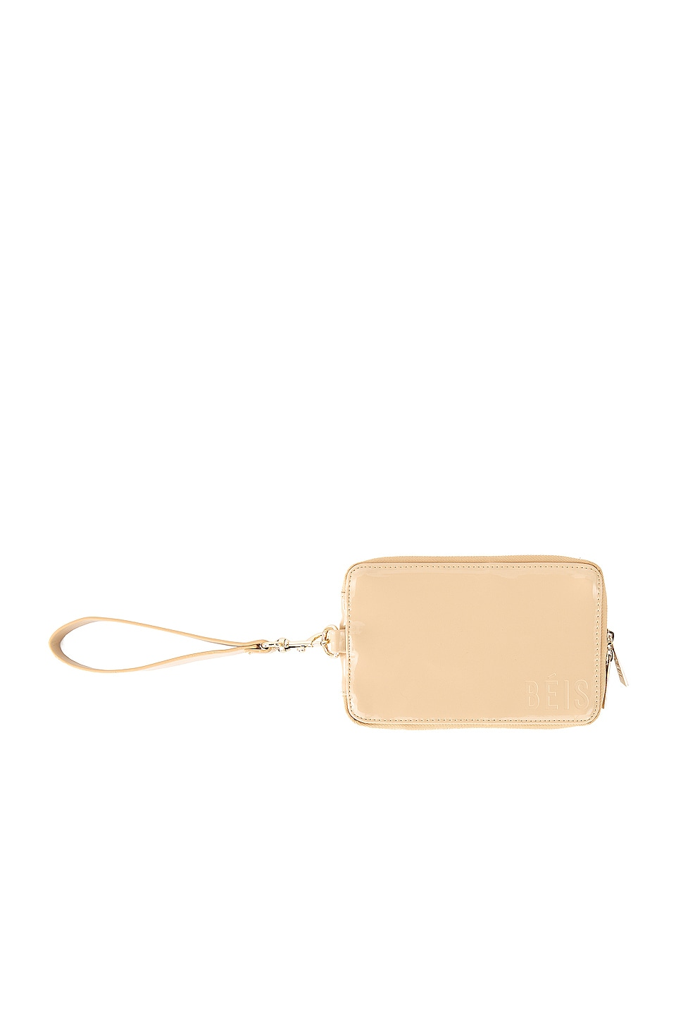 BEIS Travel Wallet in Beige