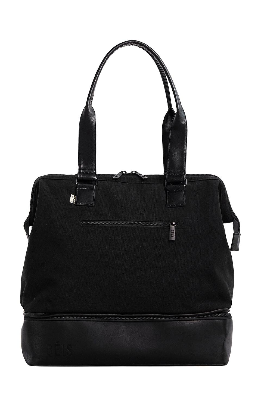 BEIS The Mini Weekend Bag in Black