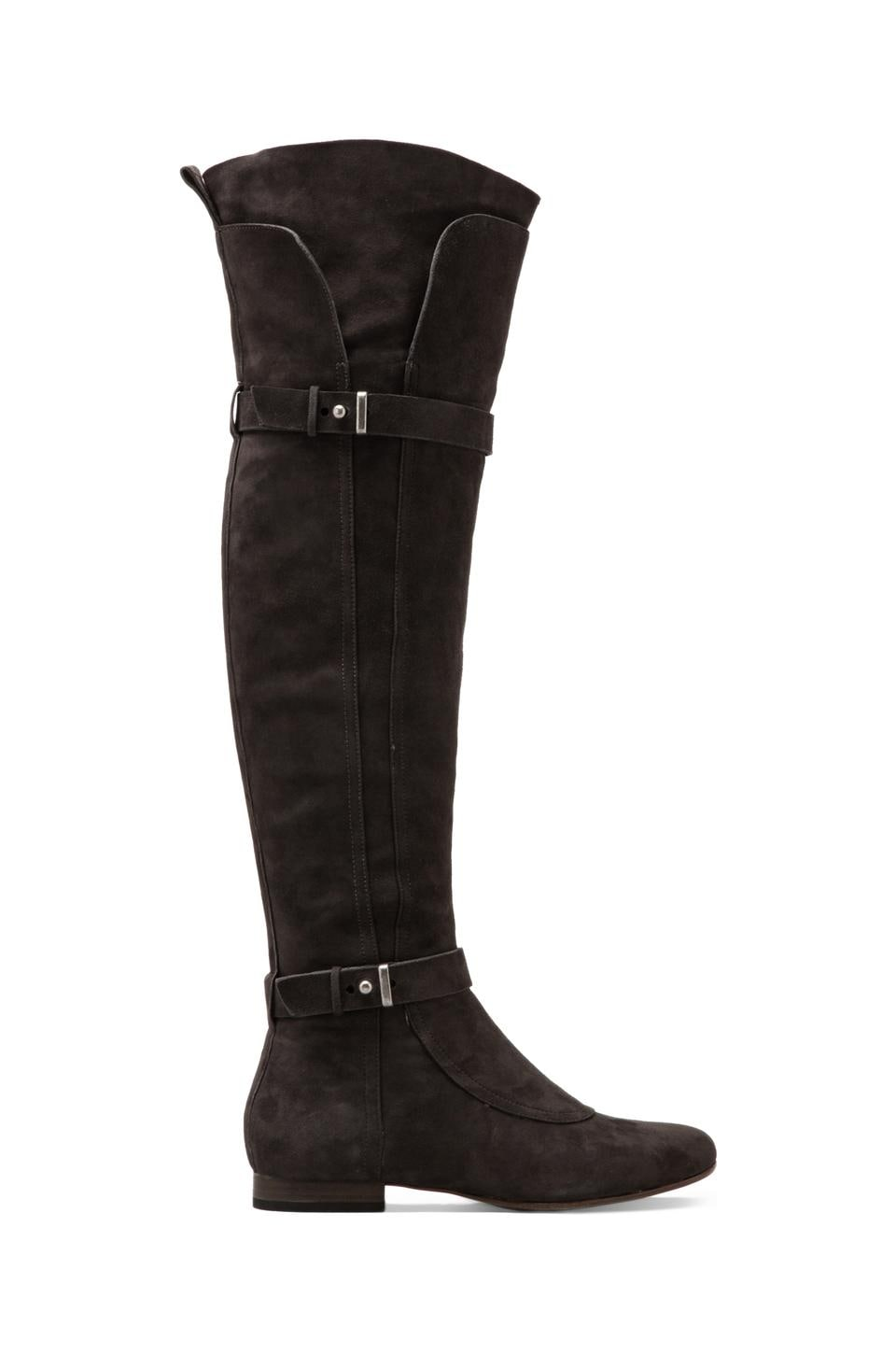 Belle by Sigerson Morrison Mikalo Over Knee Boot en Gris foncé