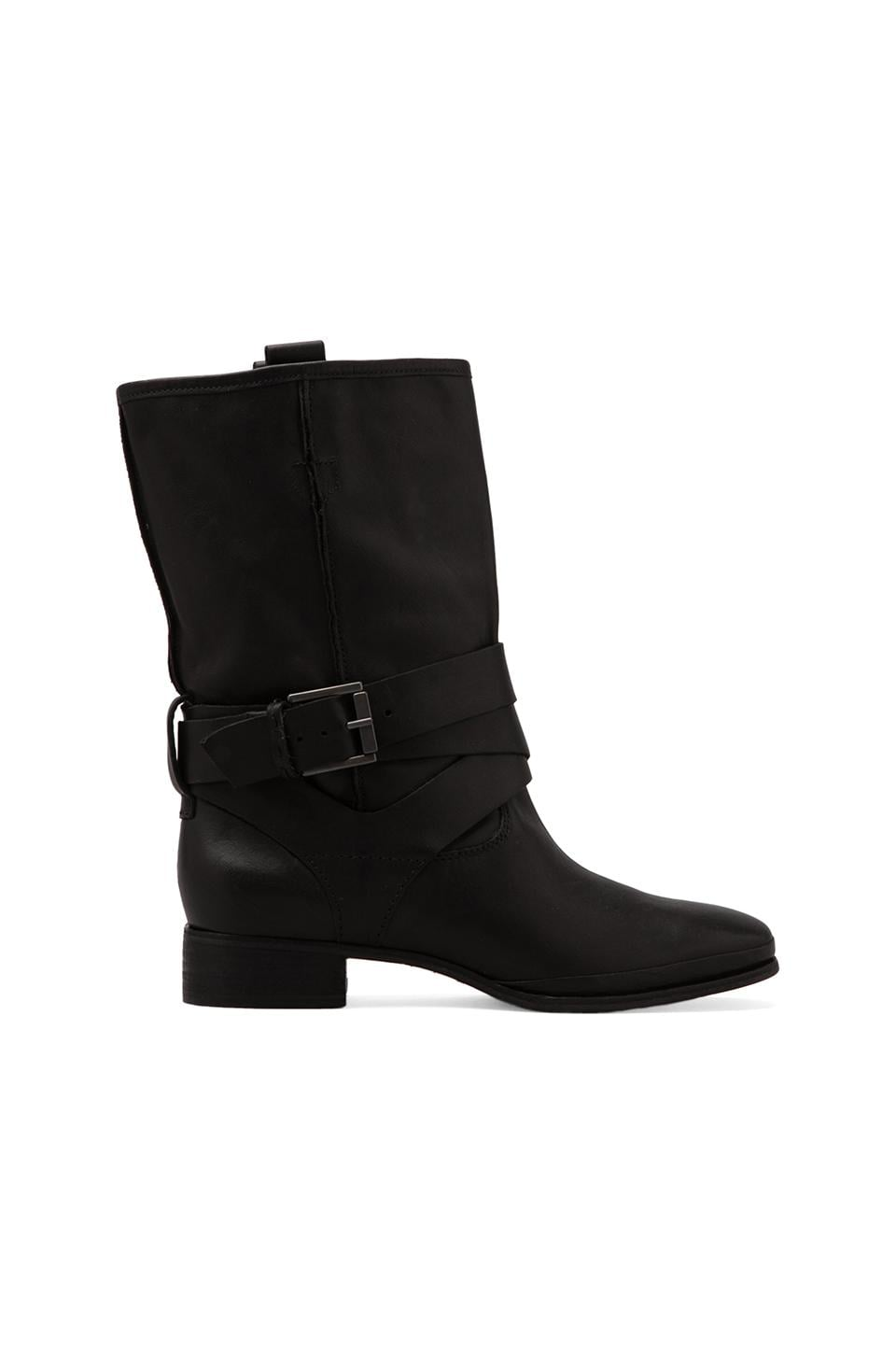 Belle by Sigerson Morrison Who Moto Bootie in Black