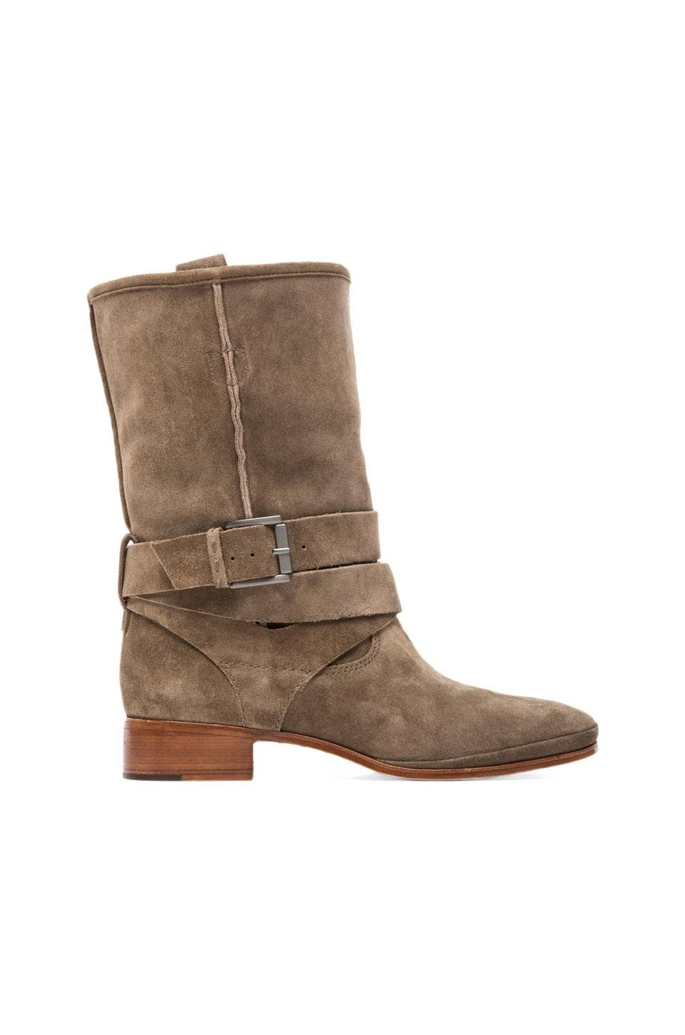 Belle by Sigerson Morrison Who Moto Bootie in Alpaca