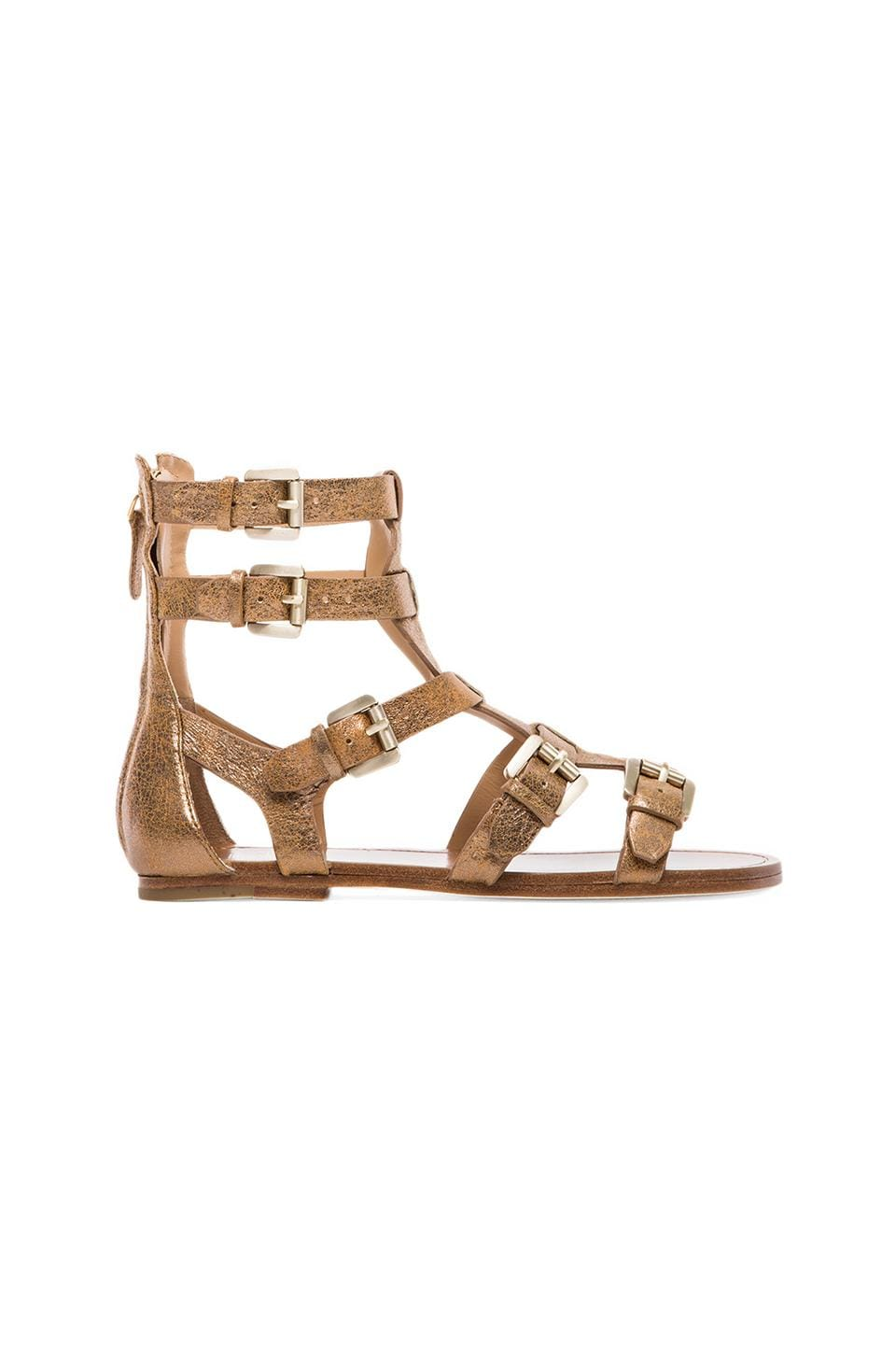 Belle by Sigerson Morrison Bianca Sandal in Pyrite