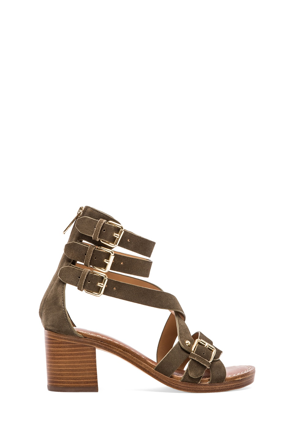 Belle by Sigerson Morrison Abra Sandals in Silice