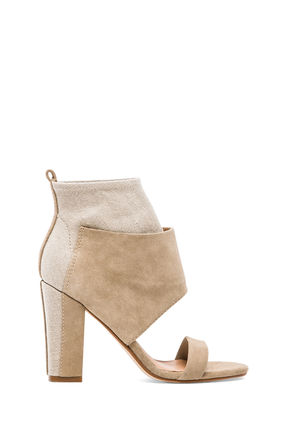 Belle by Sigerson Morrison Belden Sandal in Stucco & Natural
