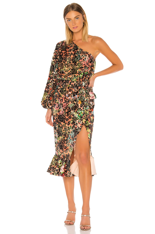 HEMANT AND NANDITA x REVOLVE Veena Dress in Black