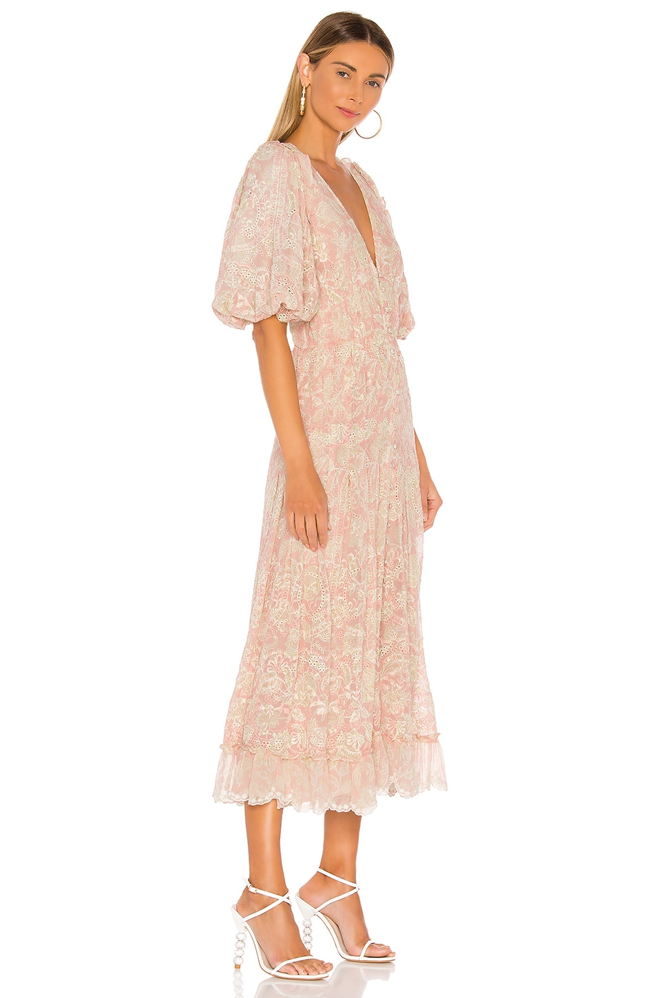 Zahra Maxi Dress, view 2, click to view large image.