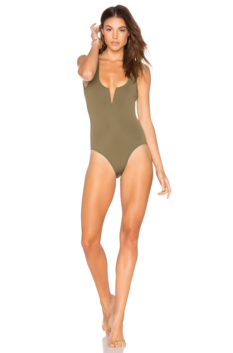 Beth Richards Ines One Piece in Khaki