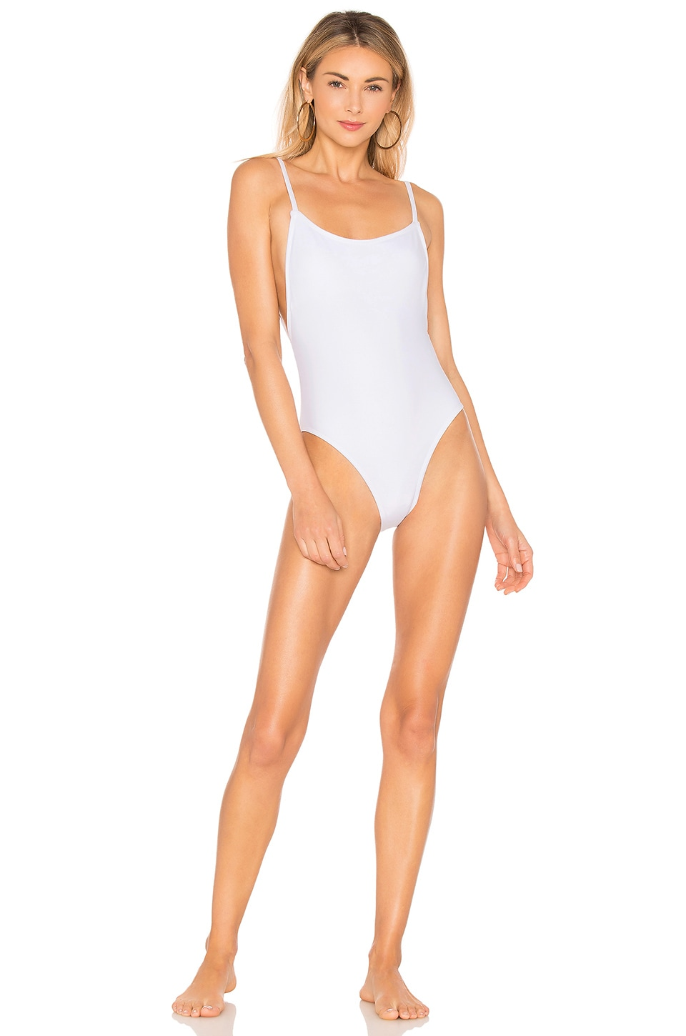 Beth Richards Lily One Piece in White
