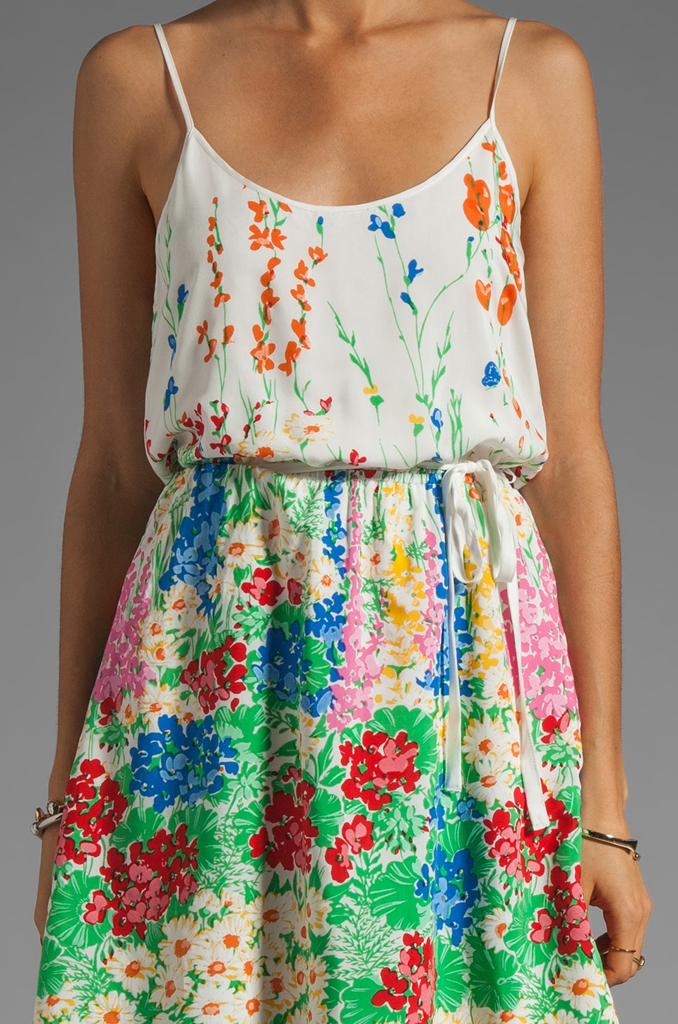 Beyond Vintage Printed Tank Dress in Judy