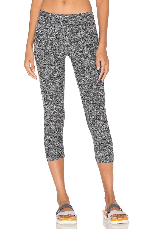 Beyond Yoga Spacedye Capri Legging Black & White