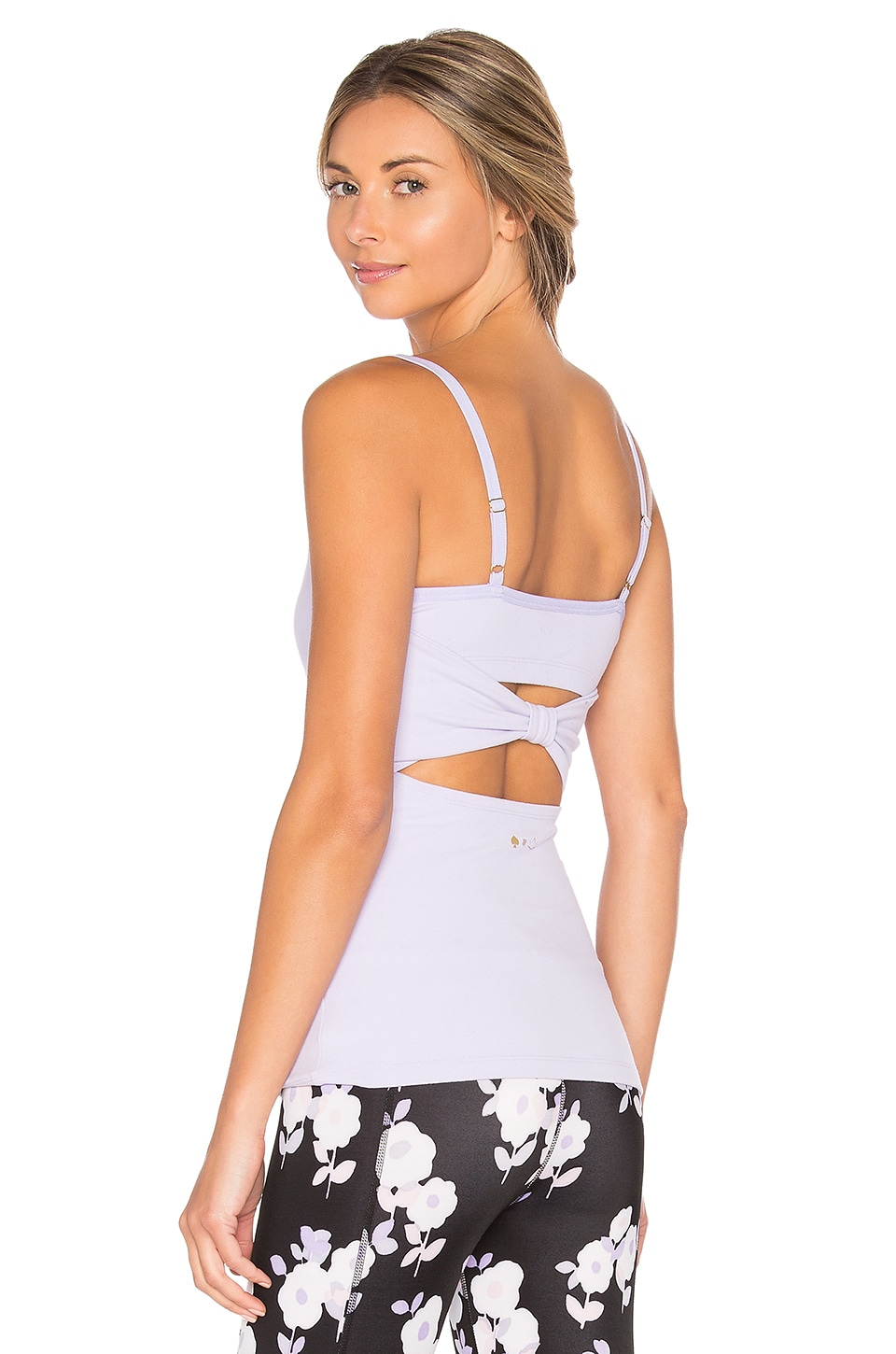 x kate spade Cinched Back Bow Tank by Beyond Yoga