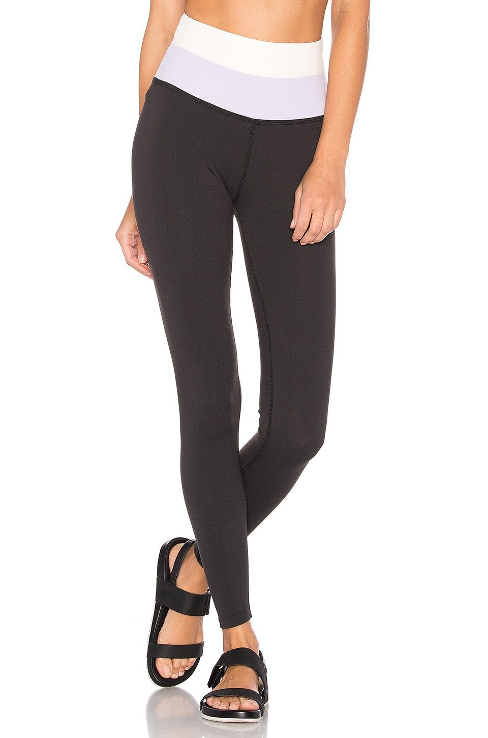 x kate spade Blocked High Waist Long Legging by Beyond Yoga