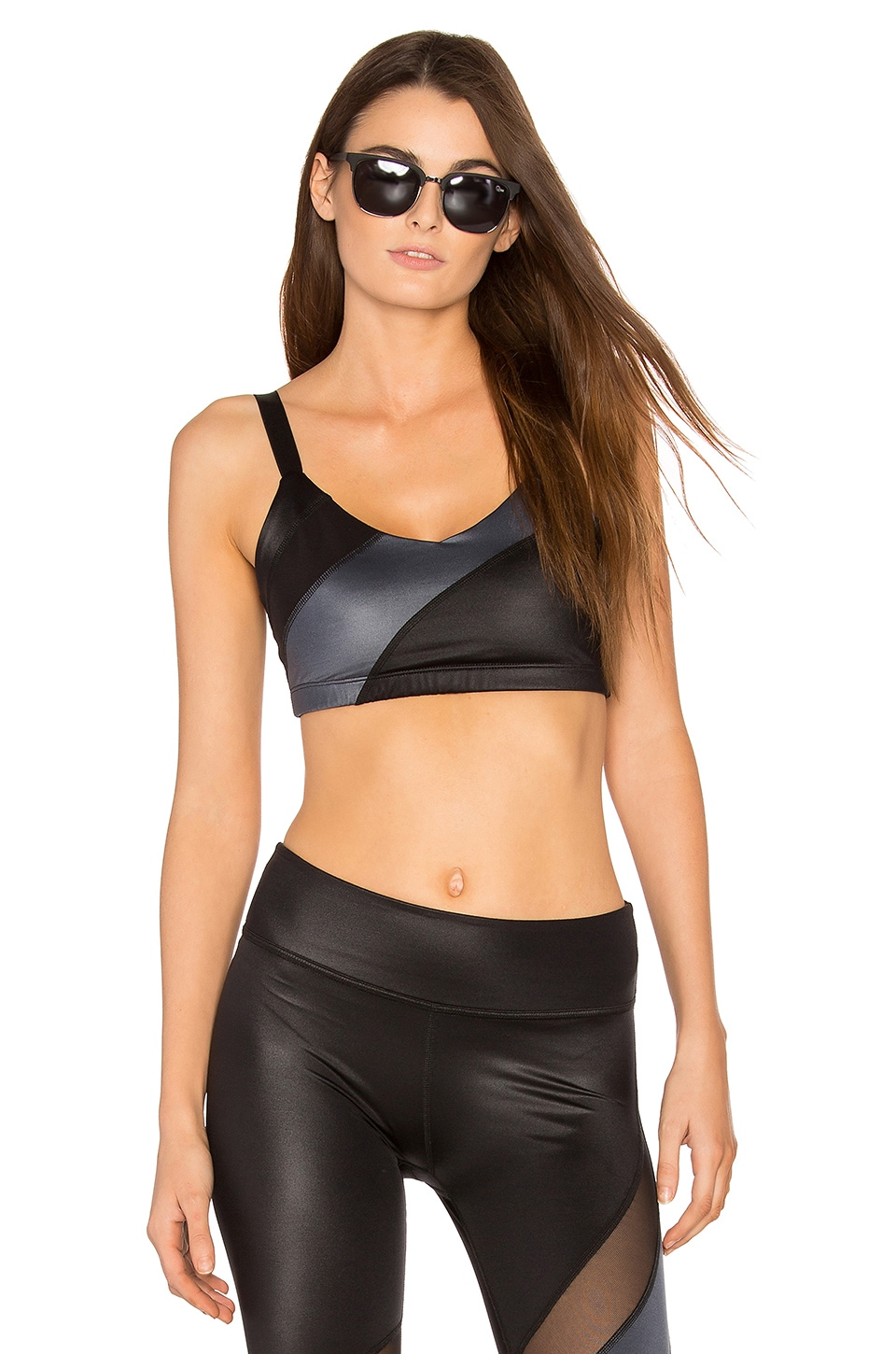 Gloss Over Waves Sports Bra by Beyond Yoga