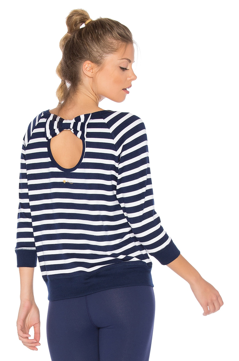 x kate spade Bow Cut Sweatshirt by Beyond Yoga