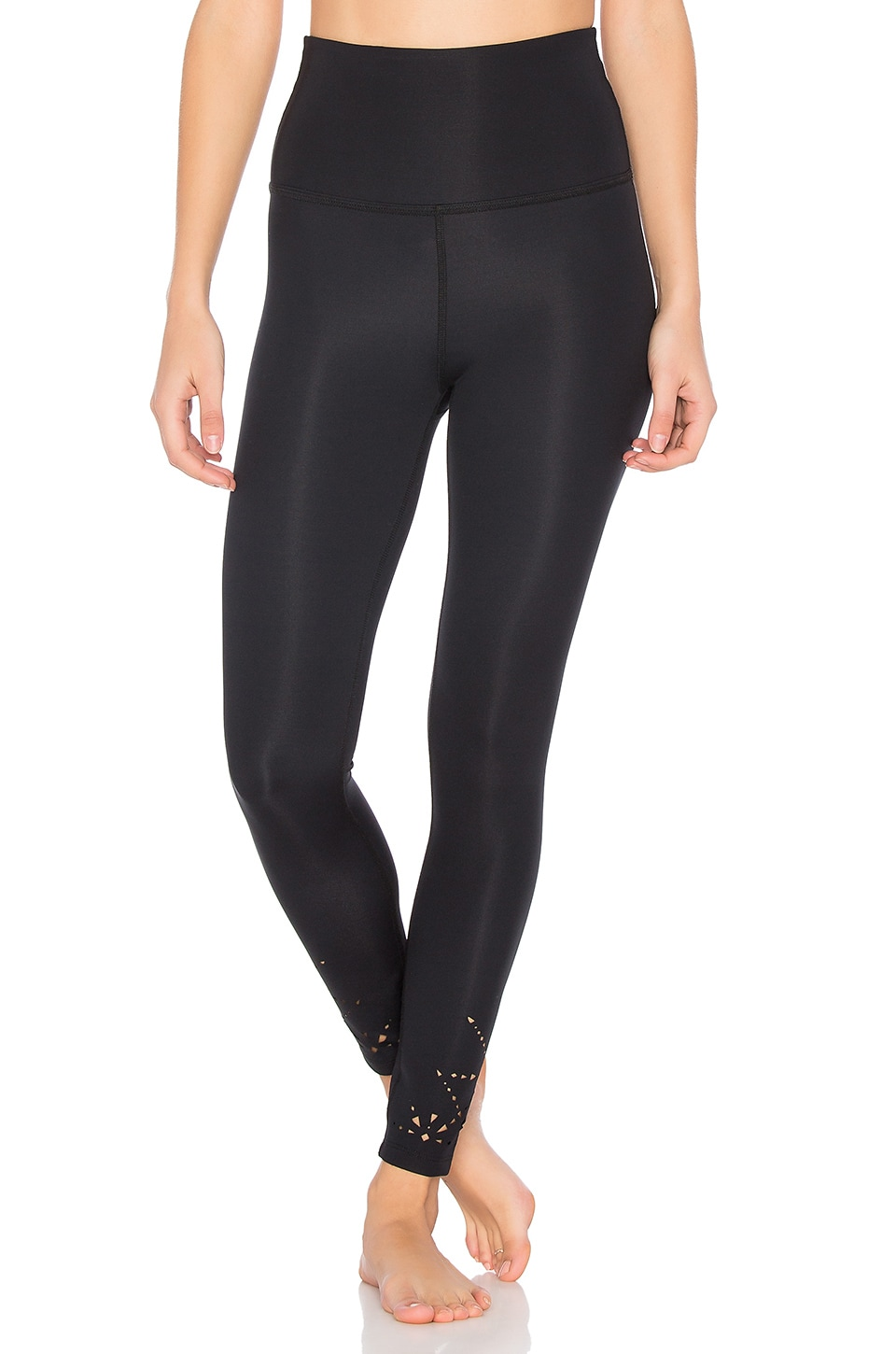 Knit Down High Waisted Legging by Beyond Yoga