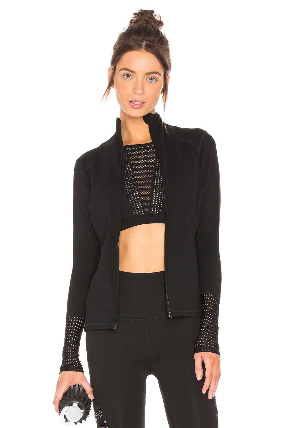 Mock Neck Jacket by Beyond Yoga