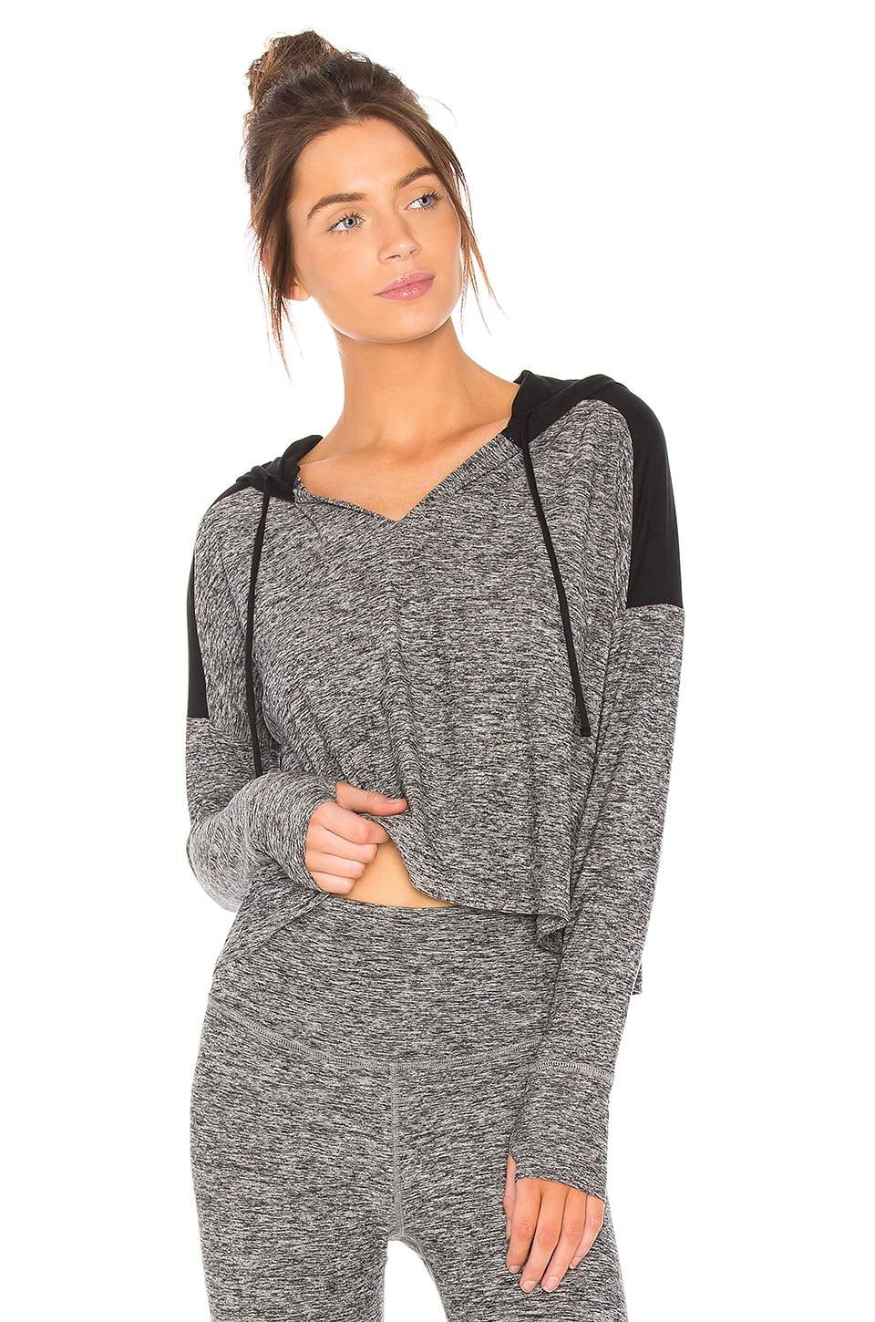 Cut and Run Cropped Hoodie by Beyond Yoga