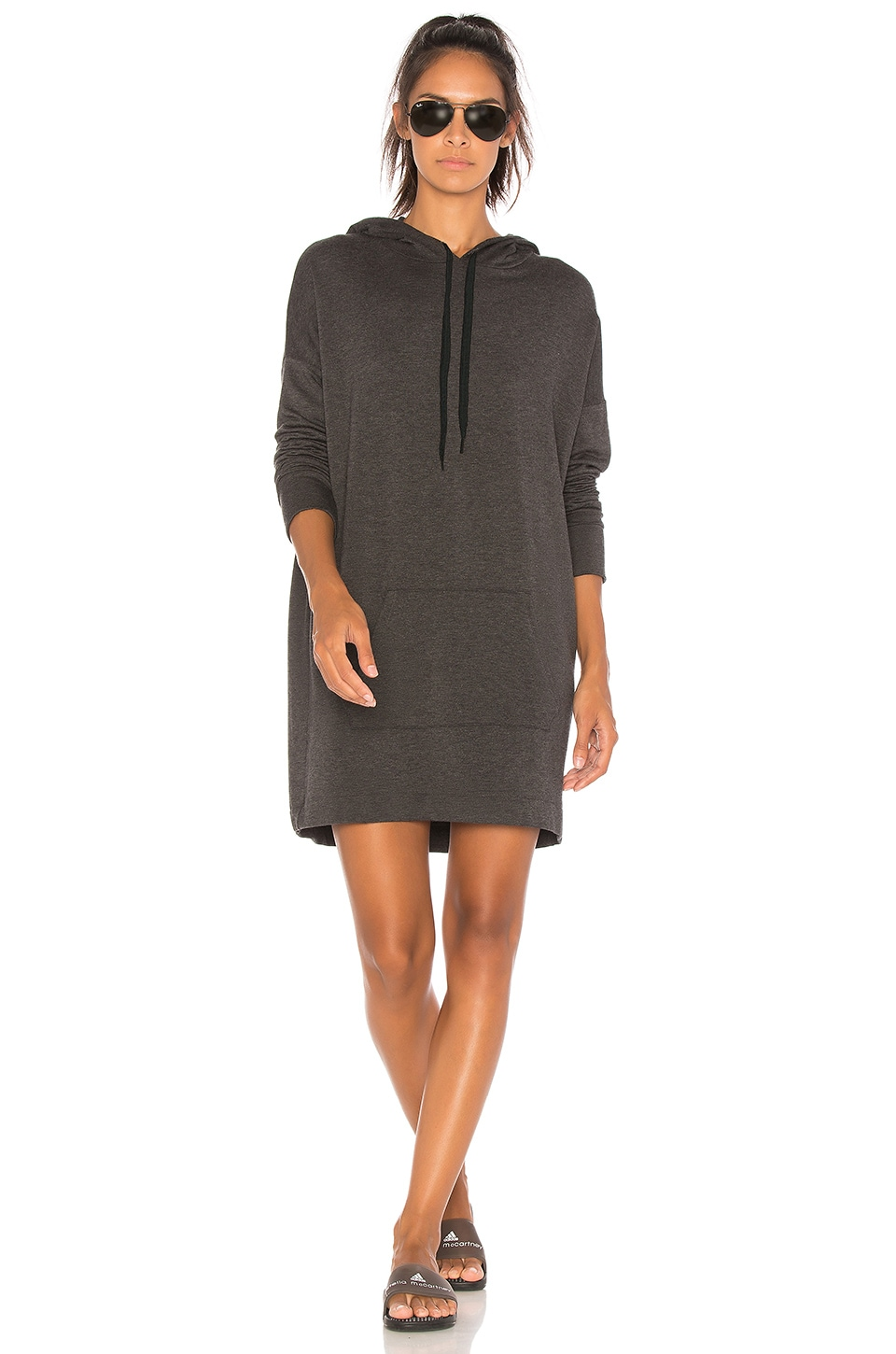 Hood Times Sweatshirt Dress by Beyond Yoga