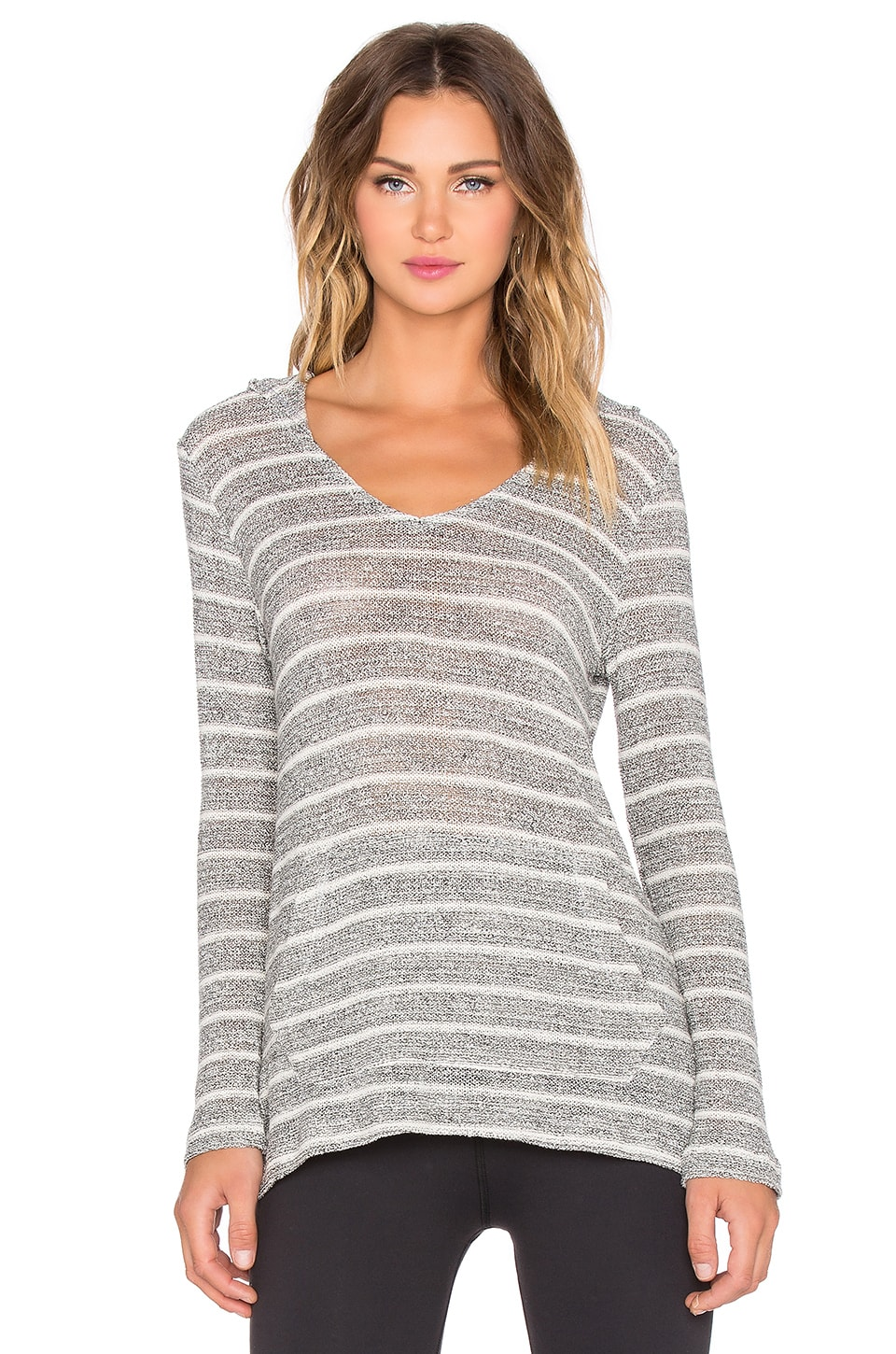 Chenille Poncho Hoodie