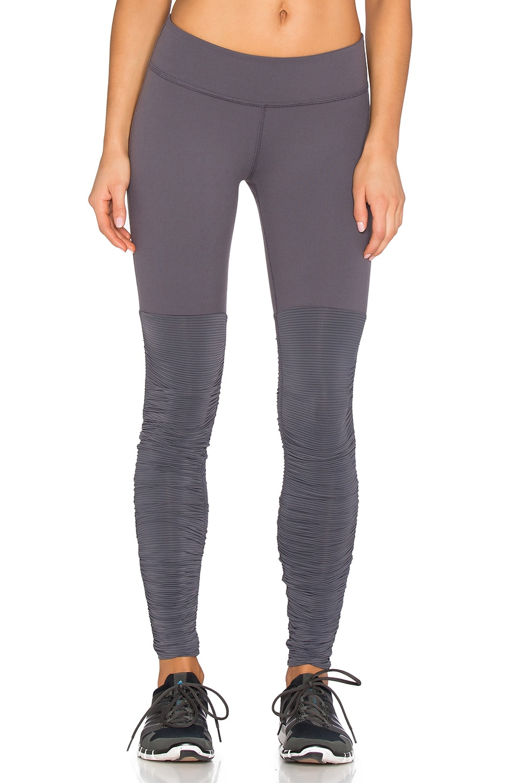 Sleek Stripe Leg Warmer Legging