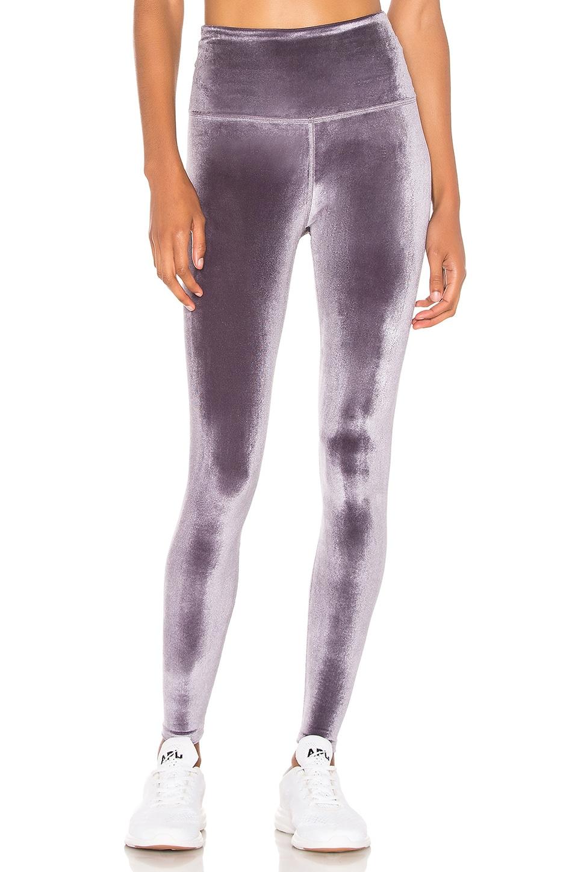 58563ed82 Velvet Motion High Waisted Midi Legging in Purple