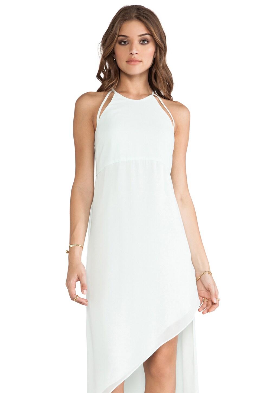 BCBGeneration Asymmetrical Dress in Whisper