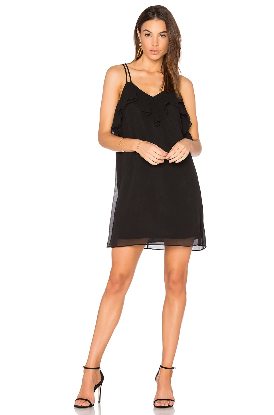 Ruffled Mini Dress by BCBGeneration