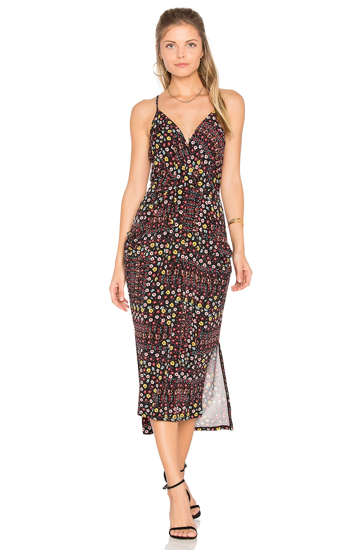 Draped Midi Dress by Bcbgeneration