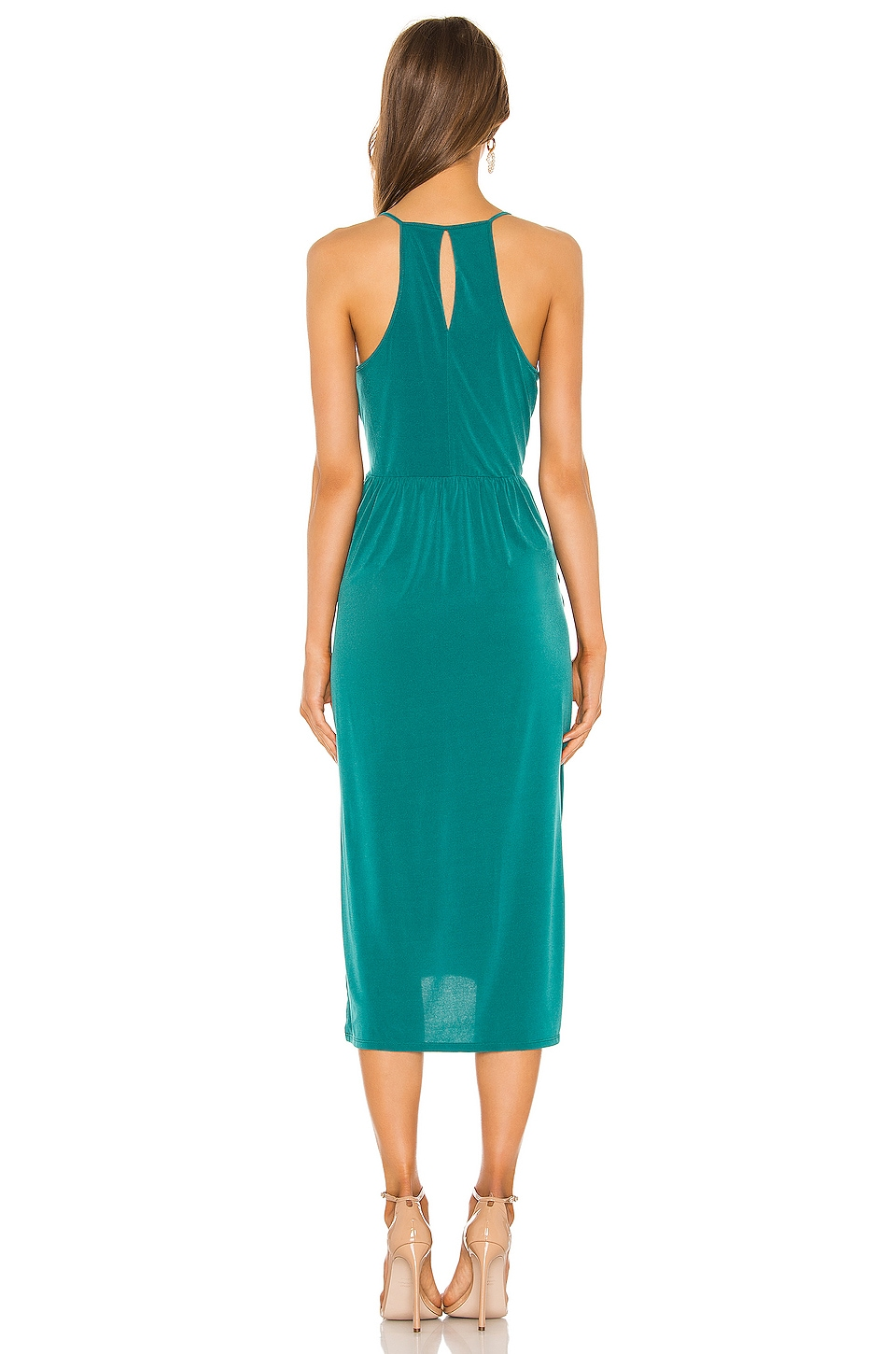 Bcbgeneration Dresses Drape Side Midi Dress