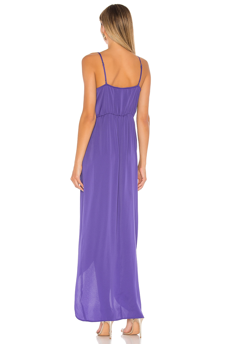 Tie Wrap Maxi Dress, view 3, click to view large image.