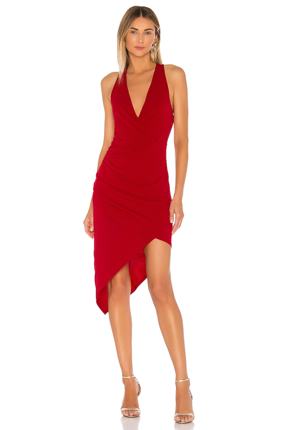 BCBGeneration Cocktail Dress in Jester Red