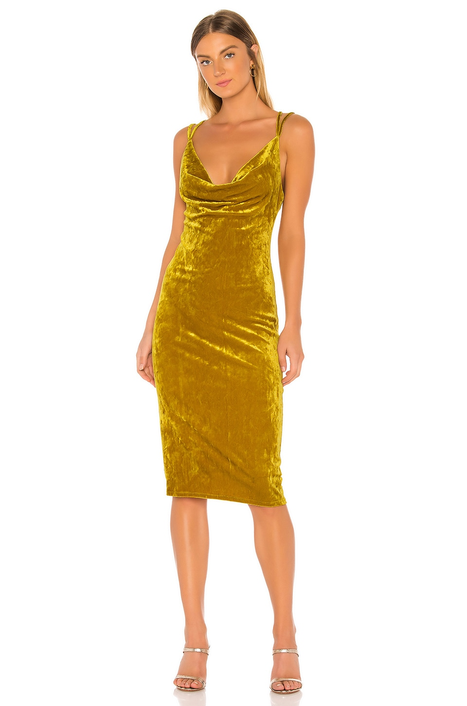 BCBGeneration Slip Dress in Ocher