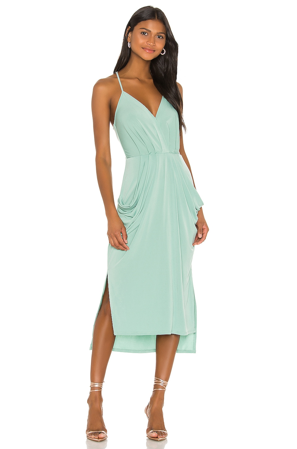 Faux Wrap Midi Dress             BCBGeneration                                                                                                                                         Sale price:                                                                       CA$ 51.34                                                                  Previous price:                                                                       CA$ 105.38 7
