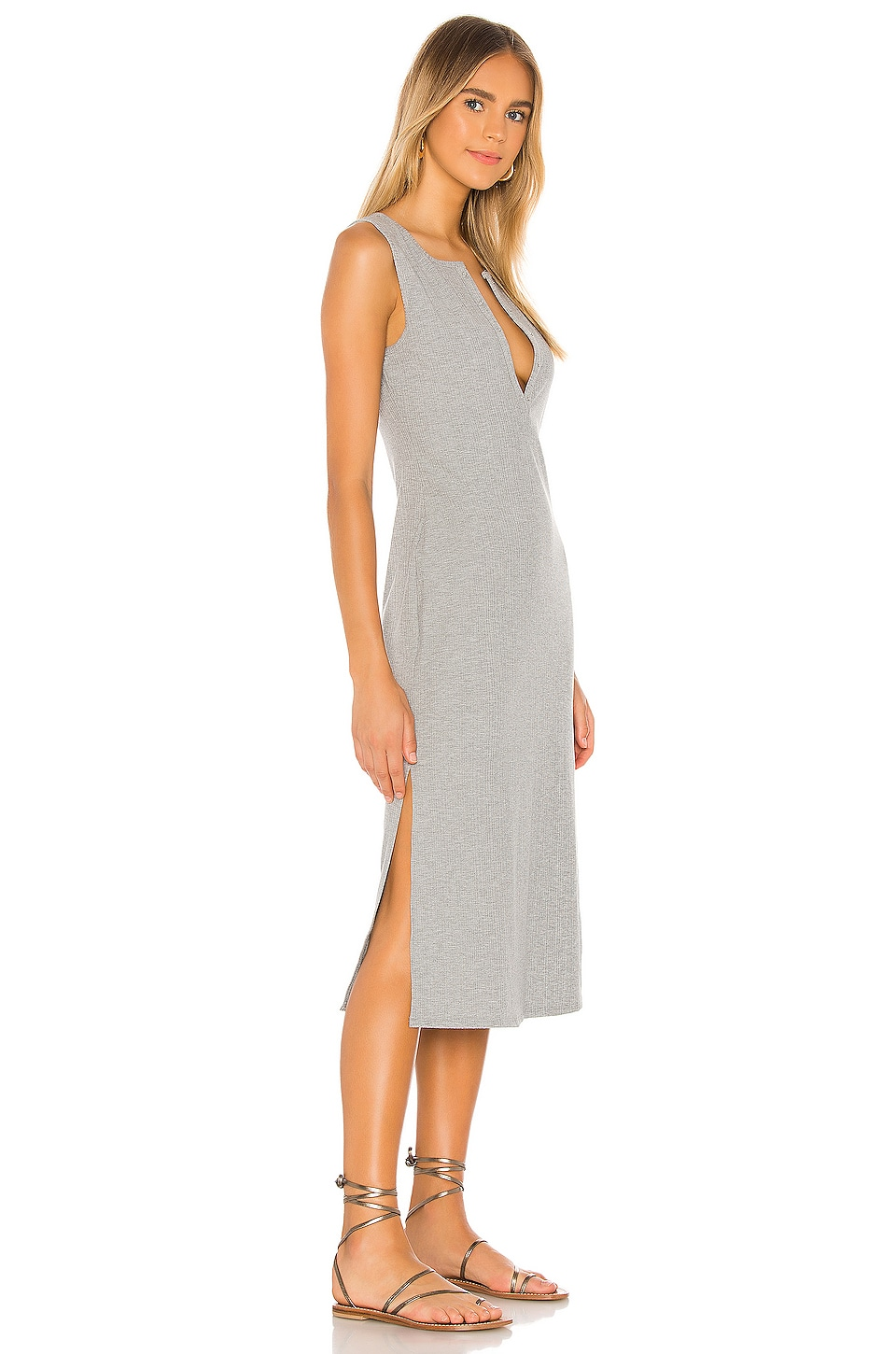 Day Shirt Sleeveless Dress, view 2, click to view large image.