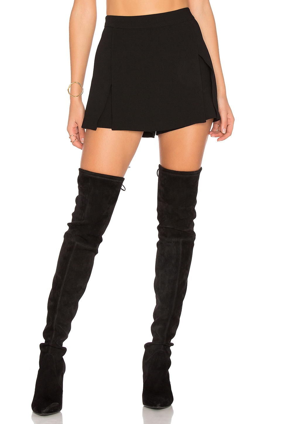BCBGeneration Mini Skort in Black